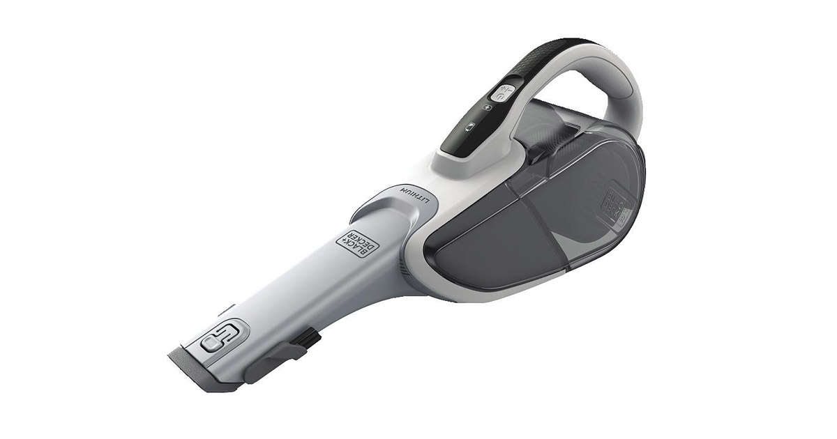 BLACK+DECKER HHVJ315JD10 dustbuster Handheld Cordless Powder White Vacuum Cleaner image