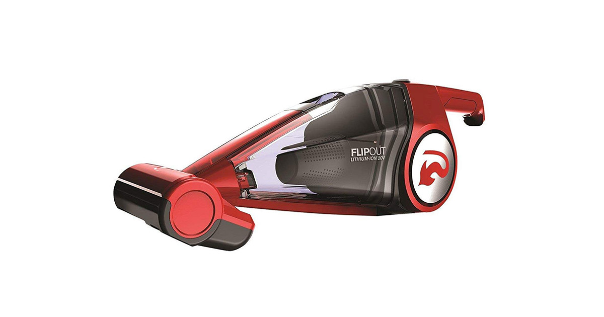 Dirt Devil BD10320B Flipout Cordless Handheld Red Vacuum Cleaner image
