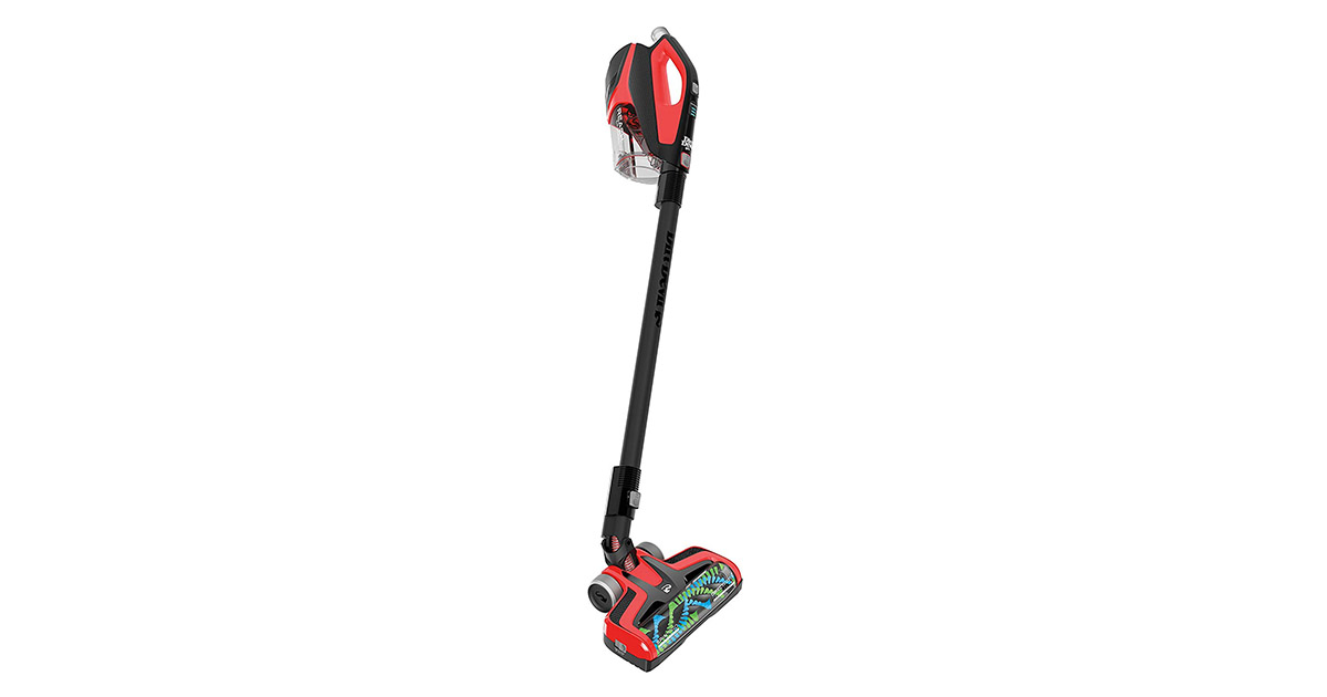 Dirt Devil BD22510PC Reach Max Plus Cordless Stick Lightweight Red Vacuum Cleaner image