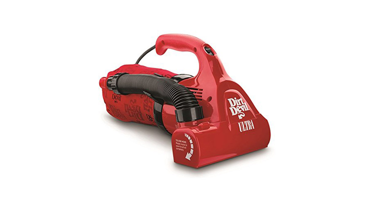Dirt Devil M08230RED Ultra Corded Bagged Handheld Vacuum Cleaner image