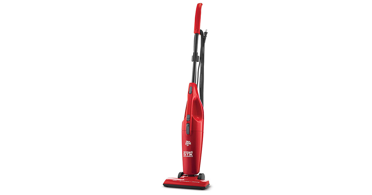 Dirt Devil SD20000RED Simpli Stik Lightweight and Bagless Vacuum Cleaner image