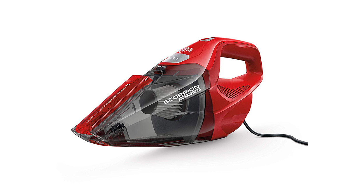 Dirt Devil SD20005RED Scorpion Handheld Corded Vacuum Cleaner image