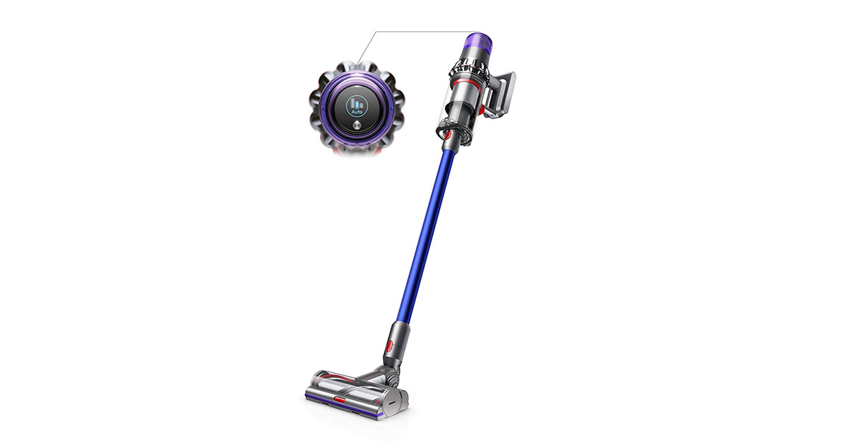 Dyson 26873101-V11 Torque Drive Cordless Blue Vacuum Cleaner image