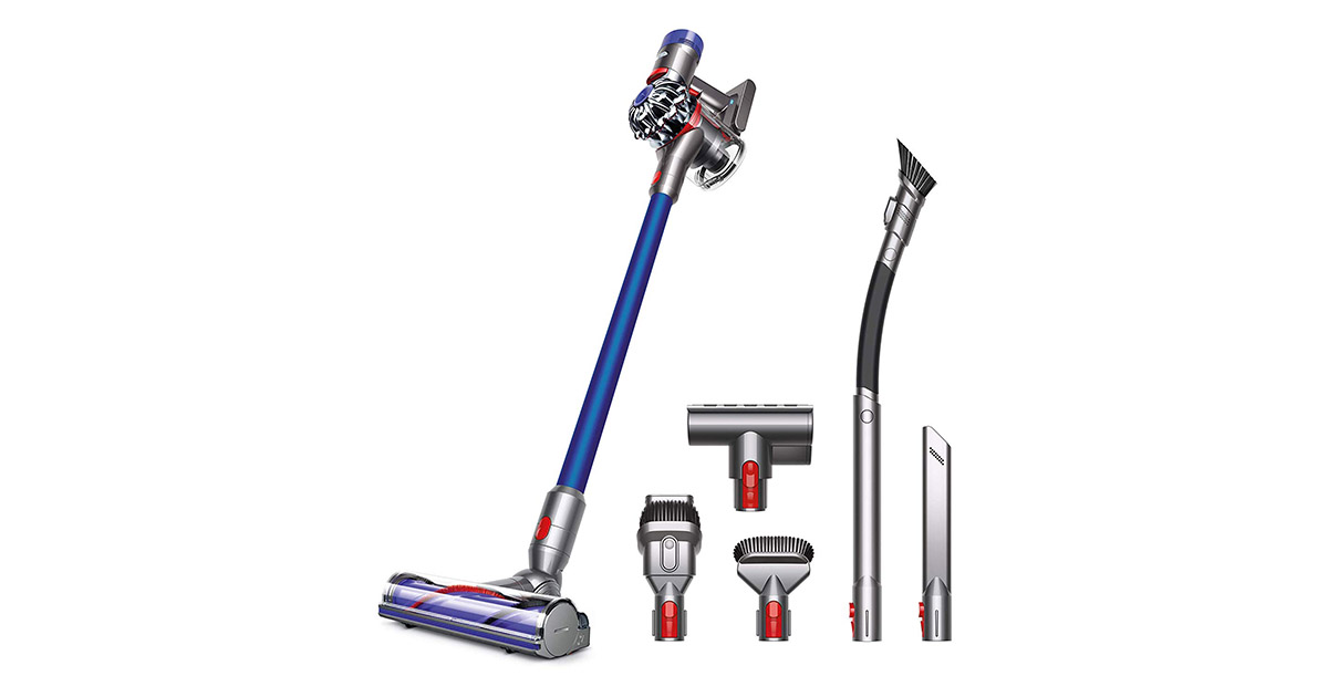 Dyson 28903801-V7 Animal Pro Cordless Lightweight Blue Vacuum Cleaner image