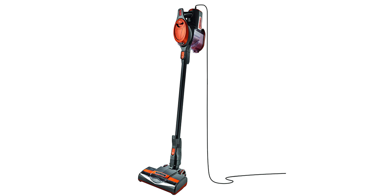 Shark HV302 Rocket Ultra-Light Corded Bagless Gray_Orange Vacuum Cleaner image