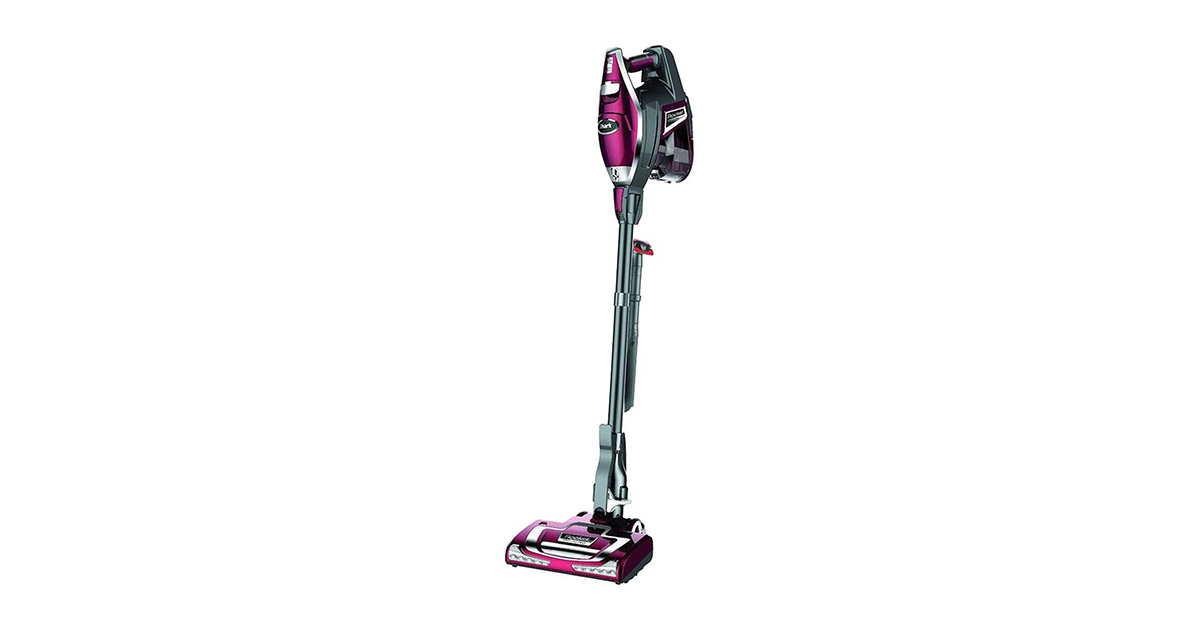 Shark HV322-FS Rocket DeluxePro Ultra Light Upright Corded Stick Bordeaux Renewed Vacuum Cleaner image