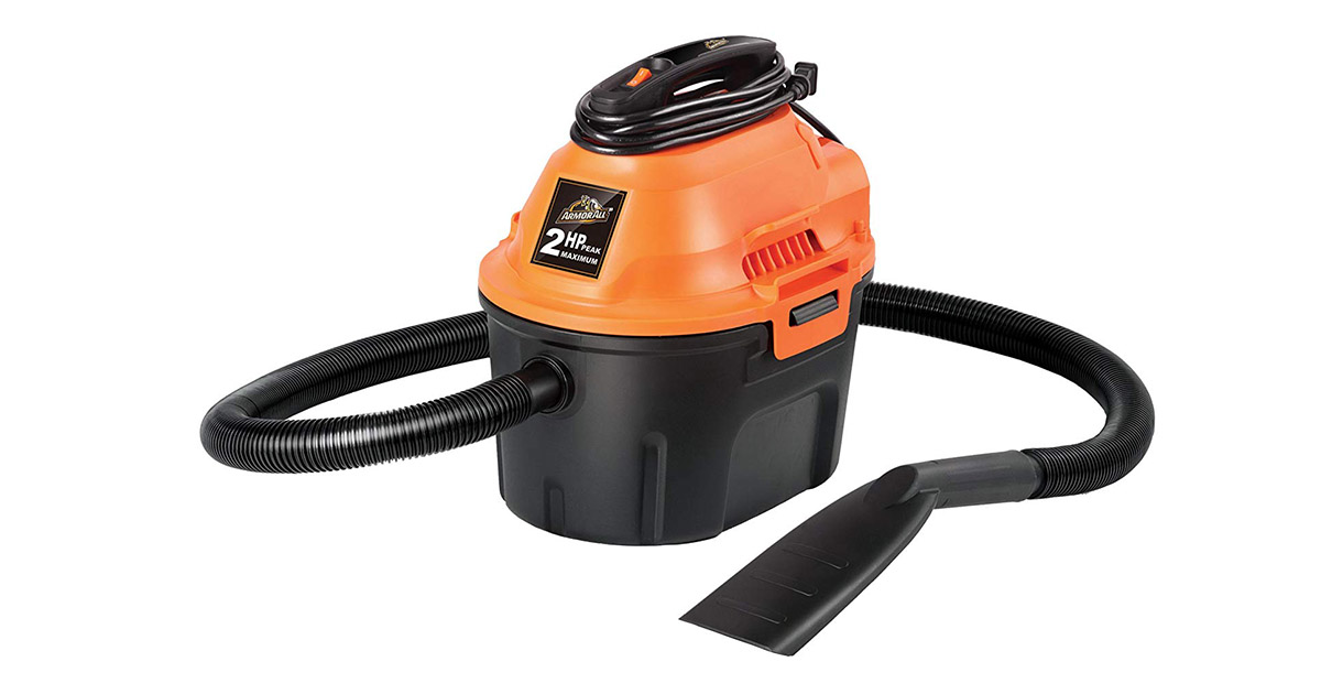 Armor All AA255 Wet Dry Utility Shop Vacuum Cleaner image