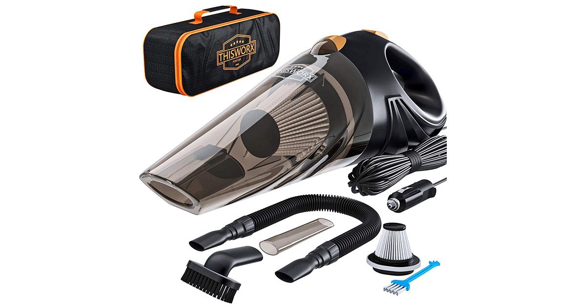 ThisWorx for TWC-01 Car Corded Vacuum Cleaner image