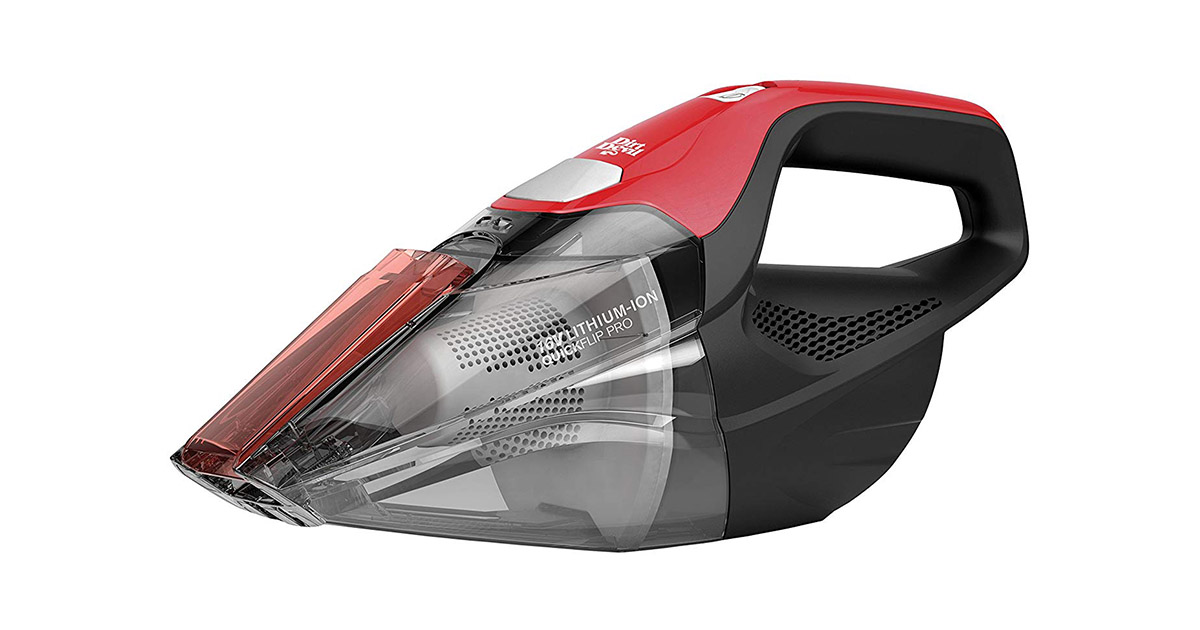 Dirt Devil BD30025B Plus 16V Quick Flip Pro Cordless Bagless Handheld Vacuum Cleaner image