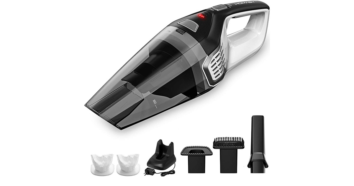 Homasy HM207A Portable Cordless Handheld Vacuum Cleaner image