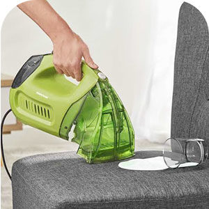 Handheld vacuum for upholstery image