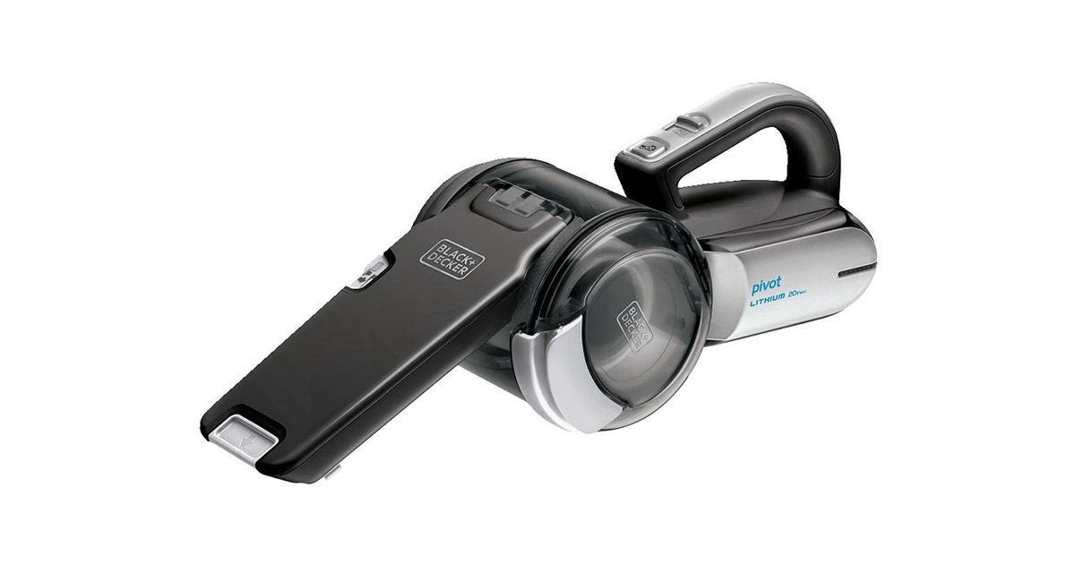 BLACKDECKER BDH2000PL Handheld Cordless Grey Vacuum Cleaner image