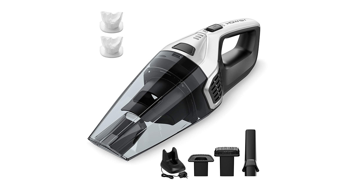 Homasy Upgraded Handheld Cordless Vacuum Cleaner image