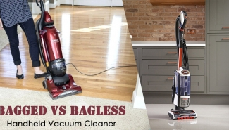 Comparison of Bagless and Bagged Hand Vac | State your convenience