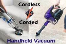 Should I Buy a Cordless or Corded Handheld Vacuum Cleaner?