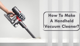 DIY Handheld Vacuum Cleaner- Build your own cleaning machine!!