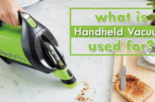 Use of a Handheld Vacuum – What can we use this for?